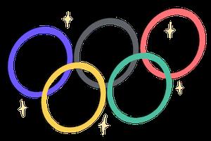 Fivethirtyeight Olympic Rings Illustration