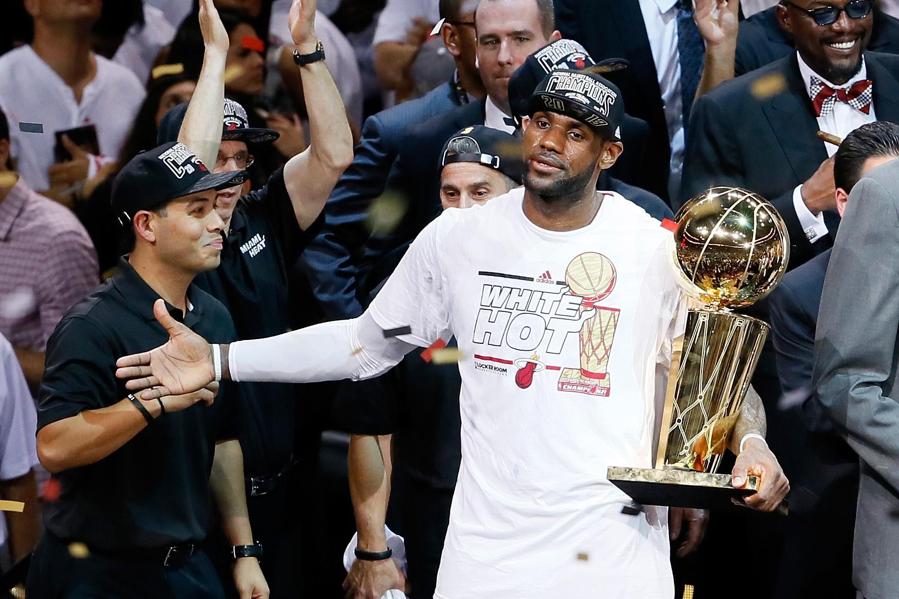 San Antonio Spurs v Miami Heat – Game 7