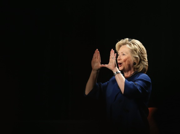 Hillary Clinton Speaks At The University Of Miami