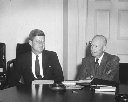 JFK Meets Ike