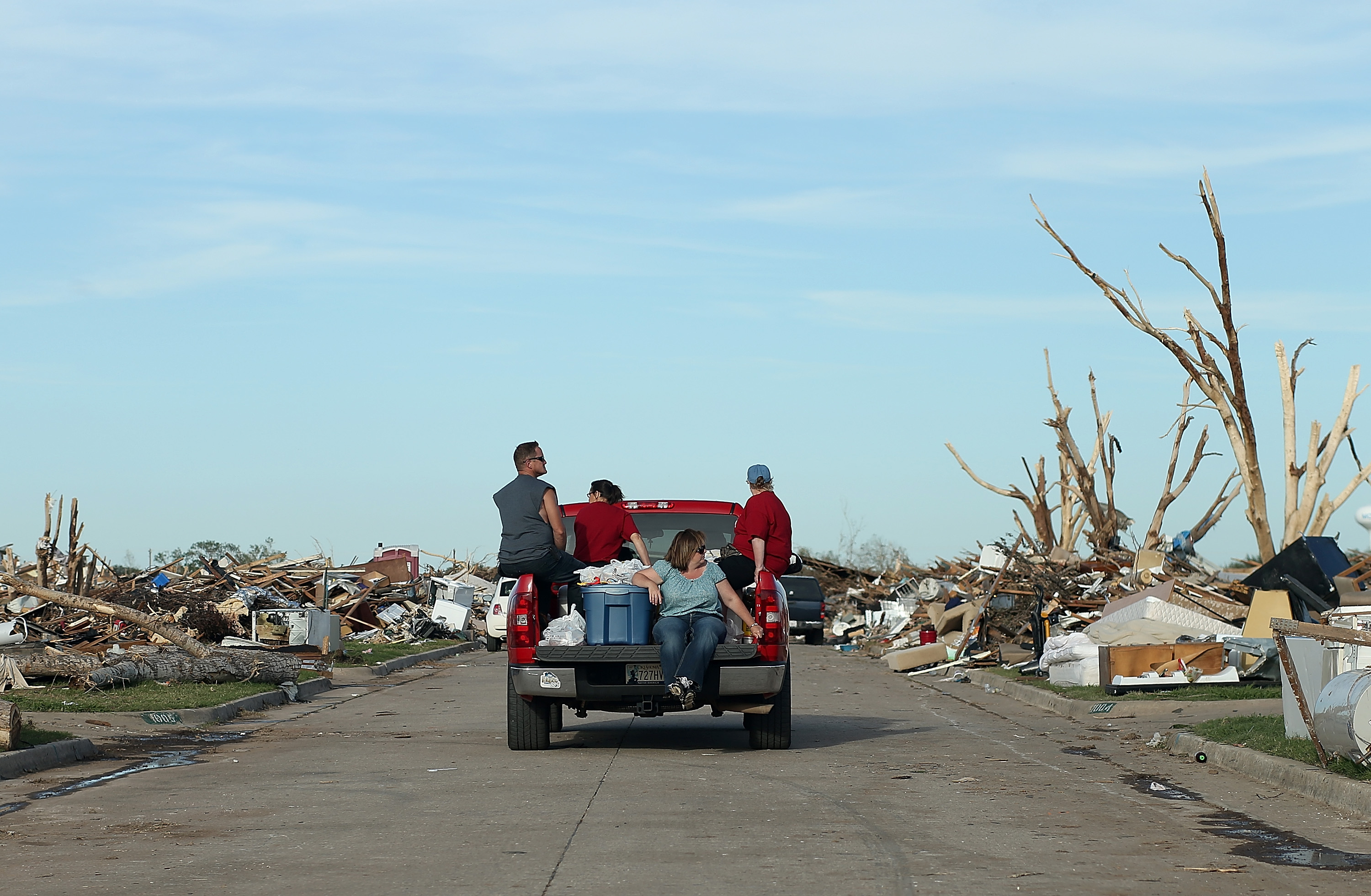 Moore Oklahoma Continues Recovery From Devastating EF-5 Tornado