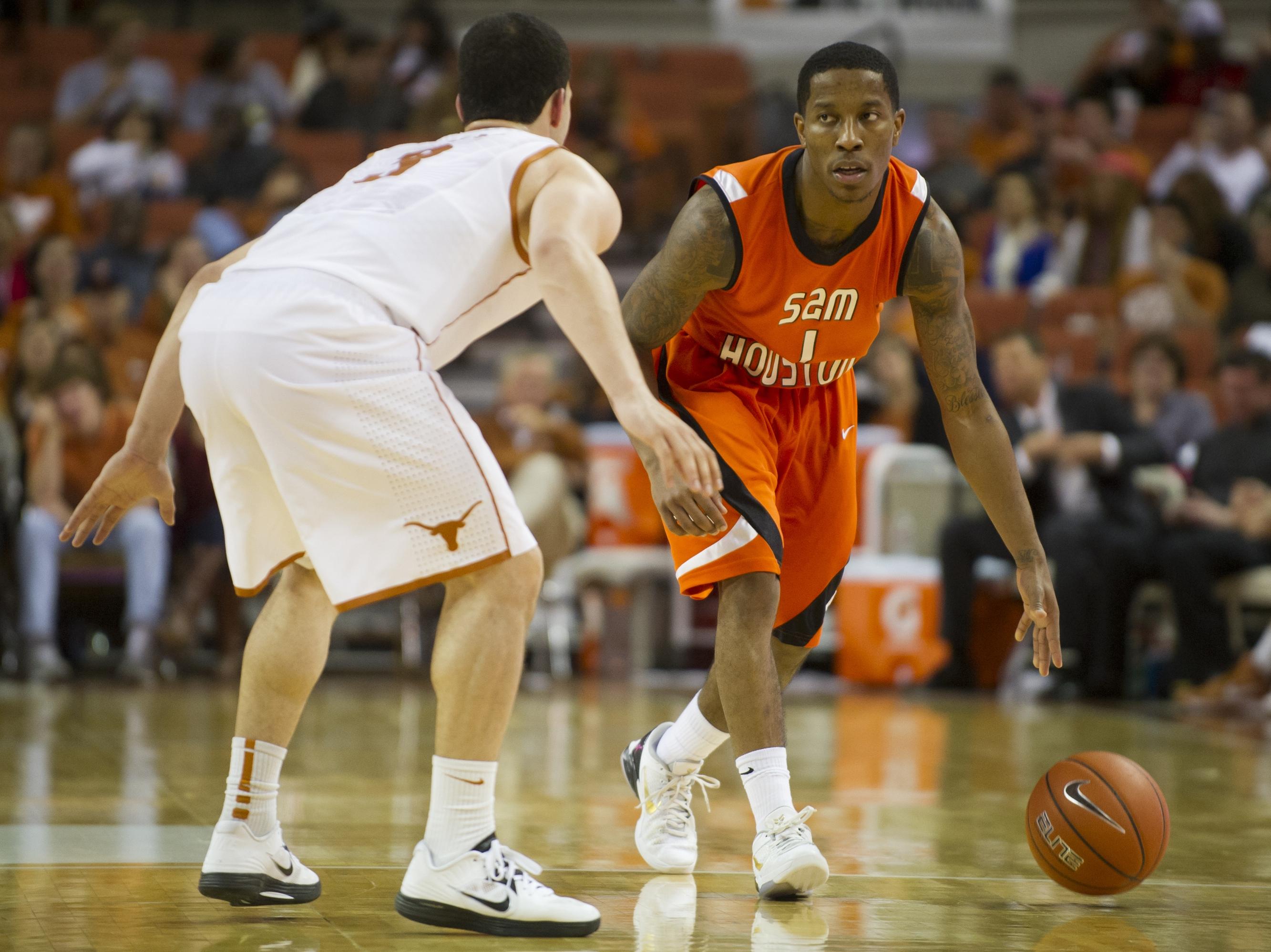 Sam Houston State v Texas