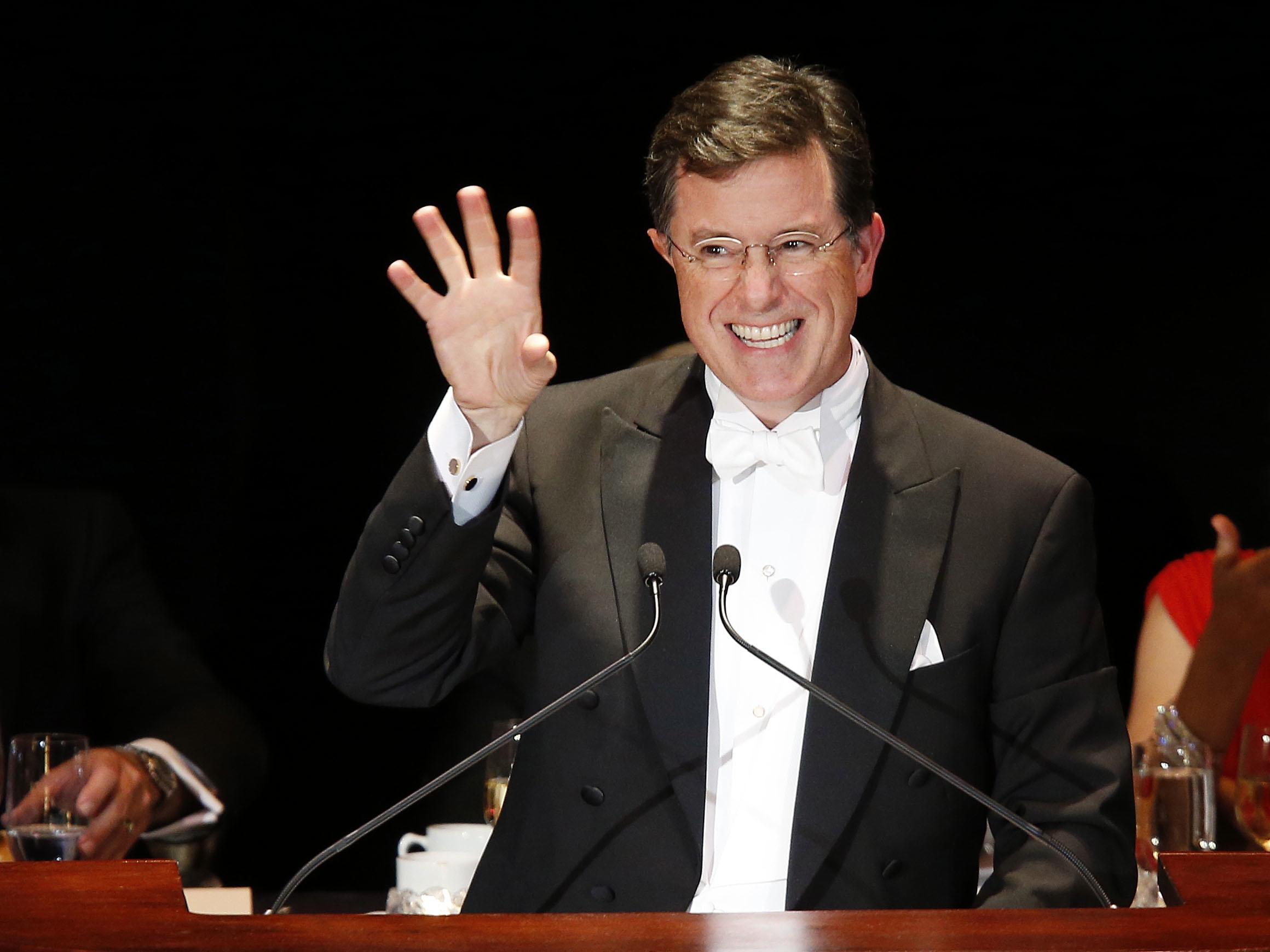 TV-Colbert Tweets