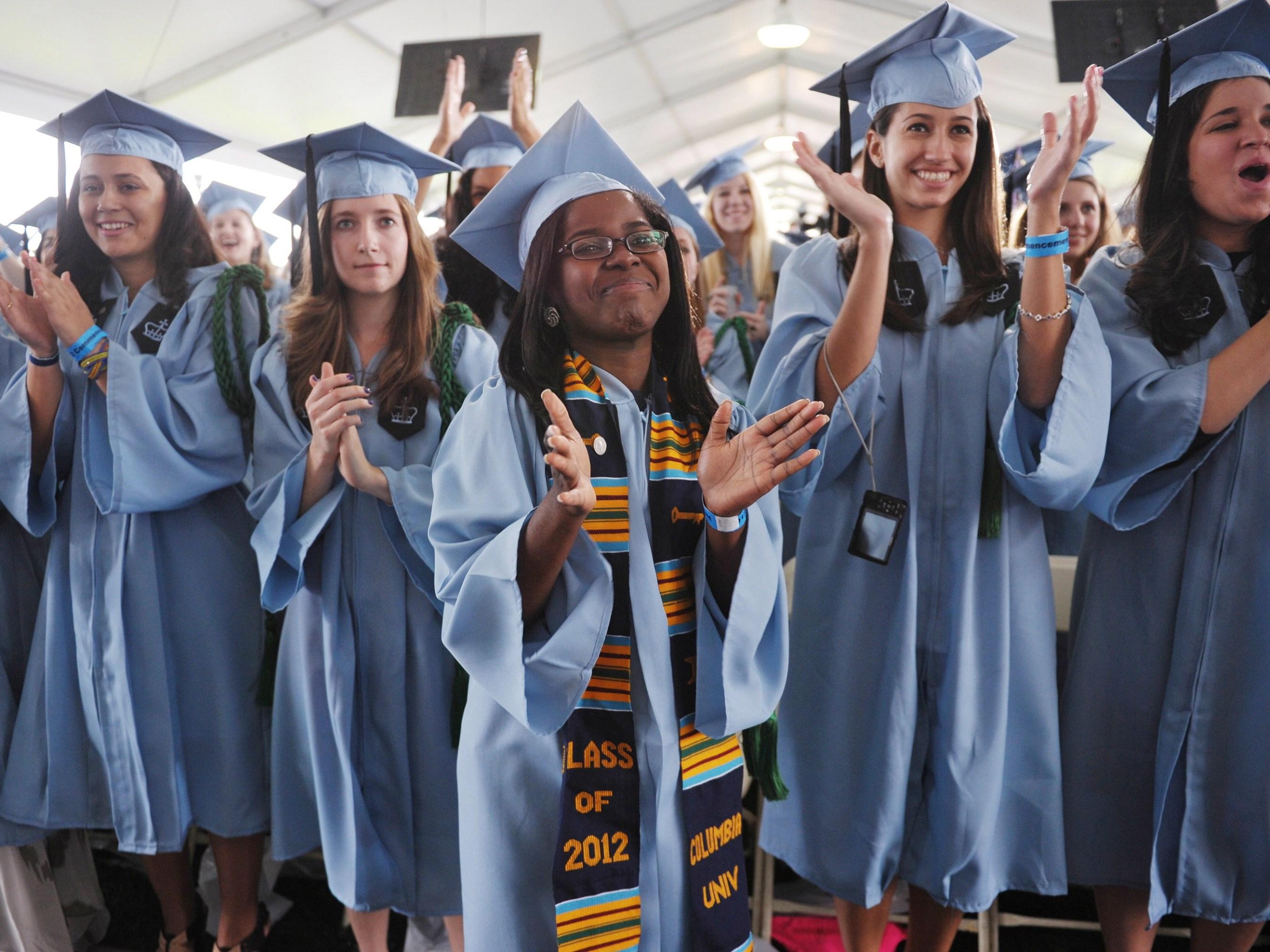 f37676604a Race Gap Narrows in College Enrollment