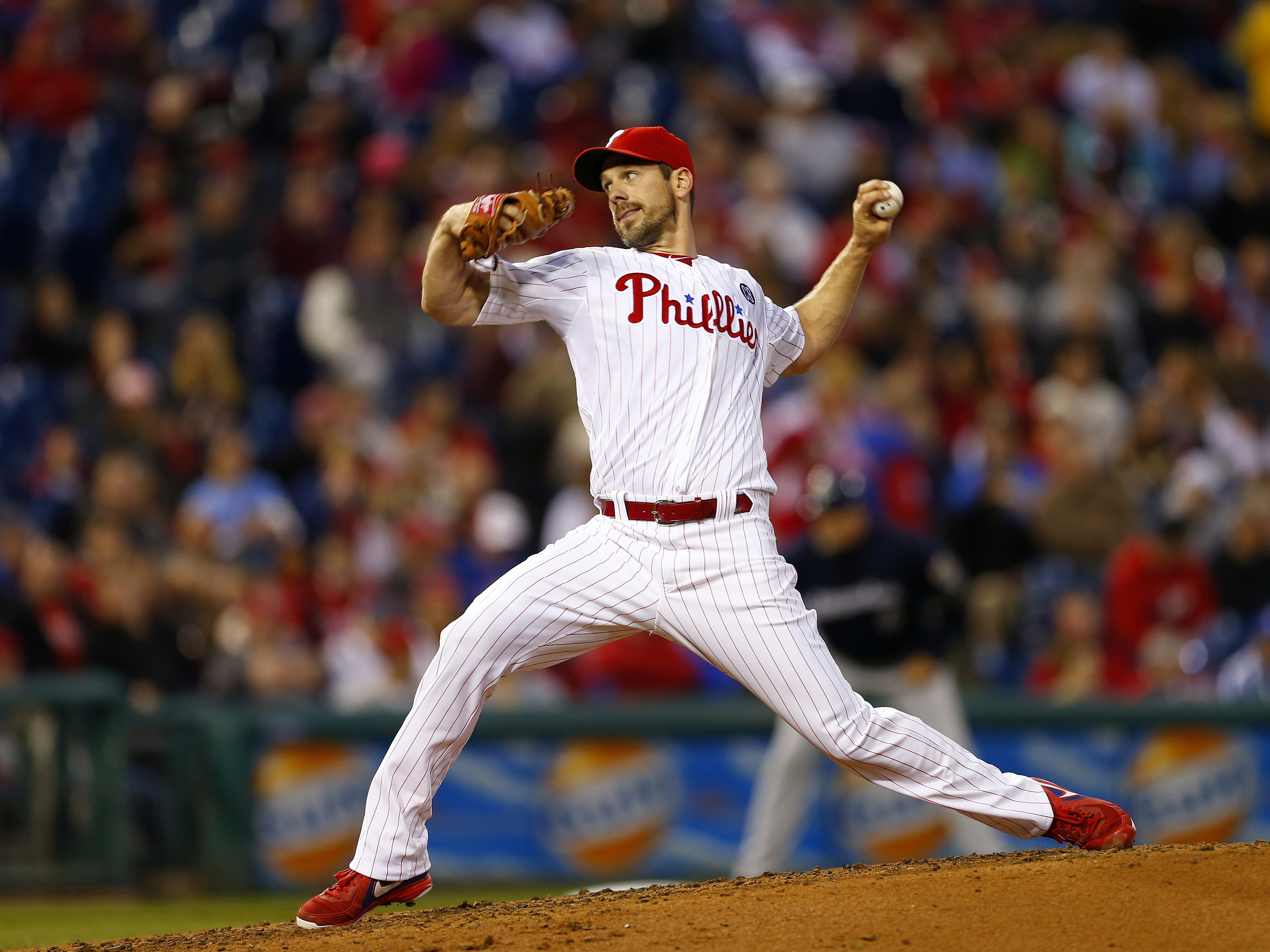 Cliff Lee of the Philadelphia Phillies.