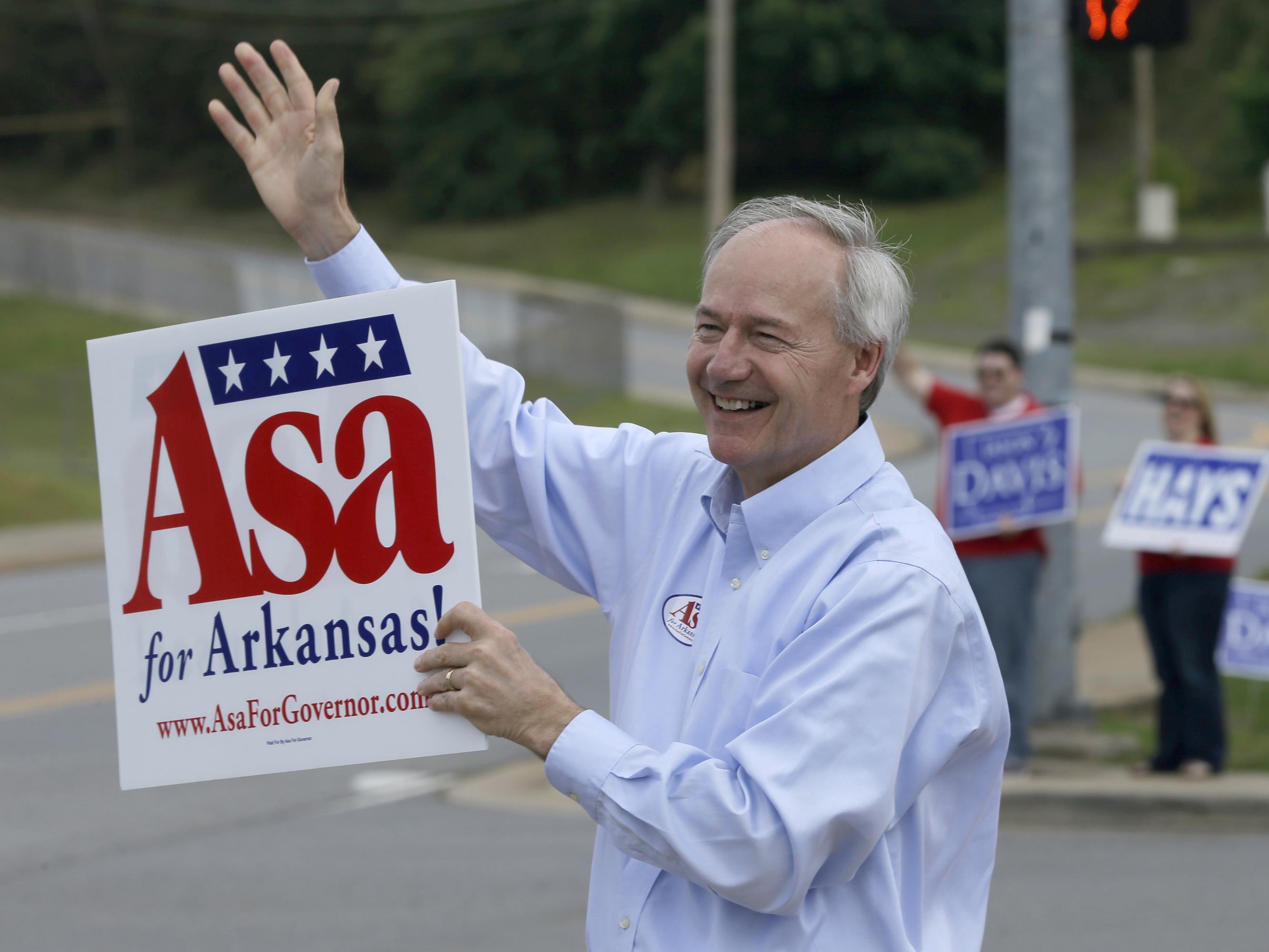Arkansas Primary Governor Hutchinson