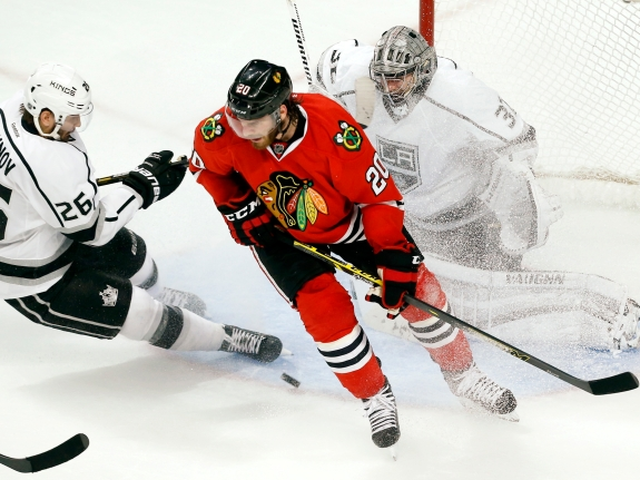 Kings Blackhawks Hockey