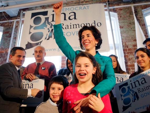 RI Governor Raimondo