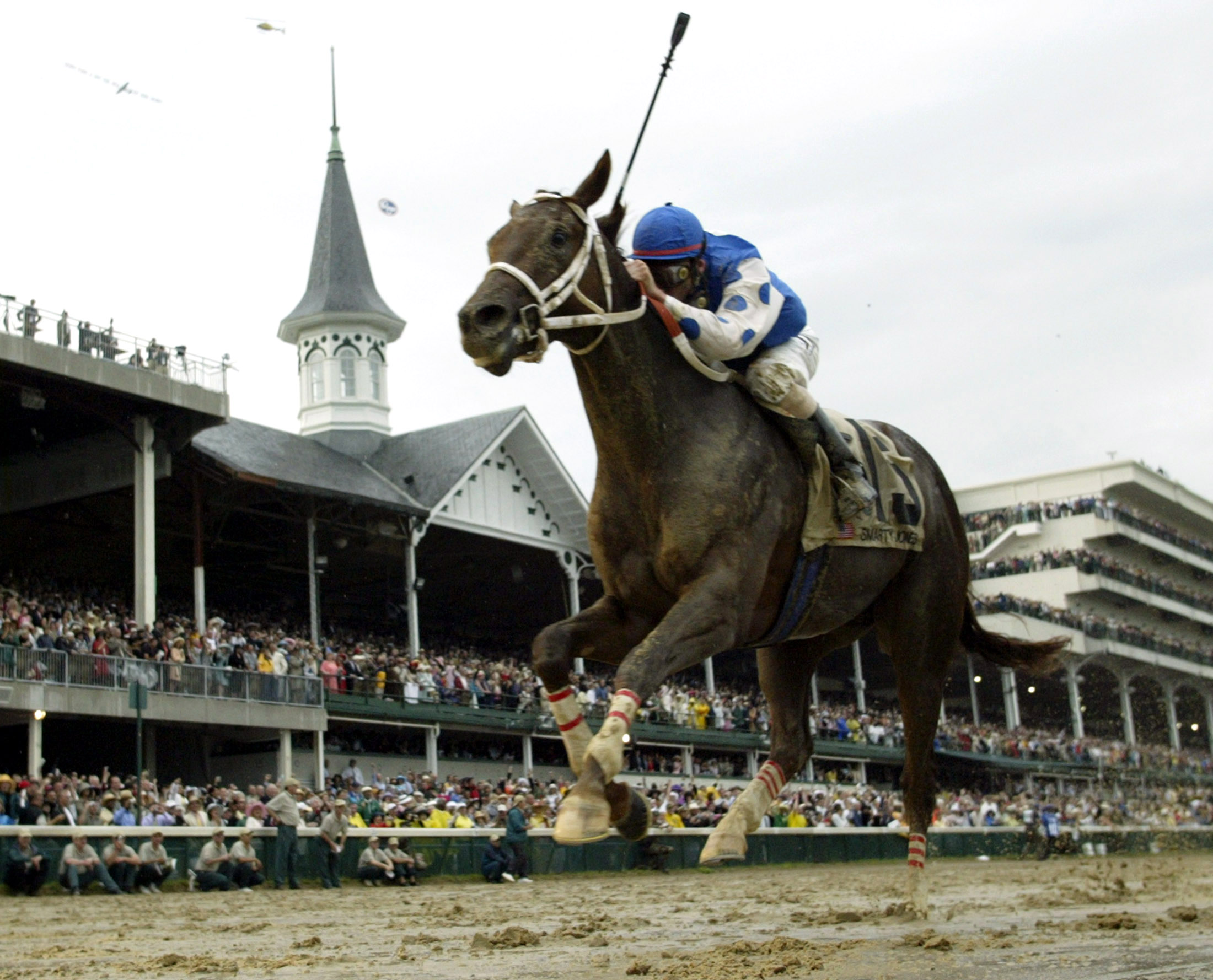 SMARTY JONES WINS 130TH KENTUCKY DERBY.