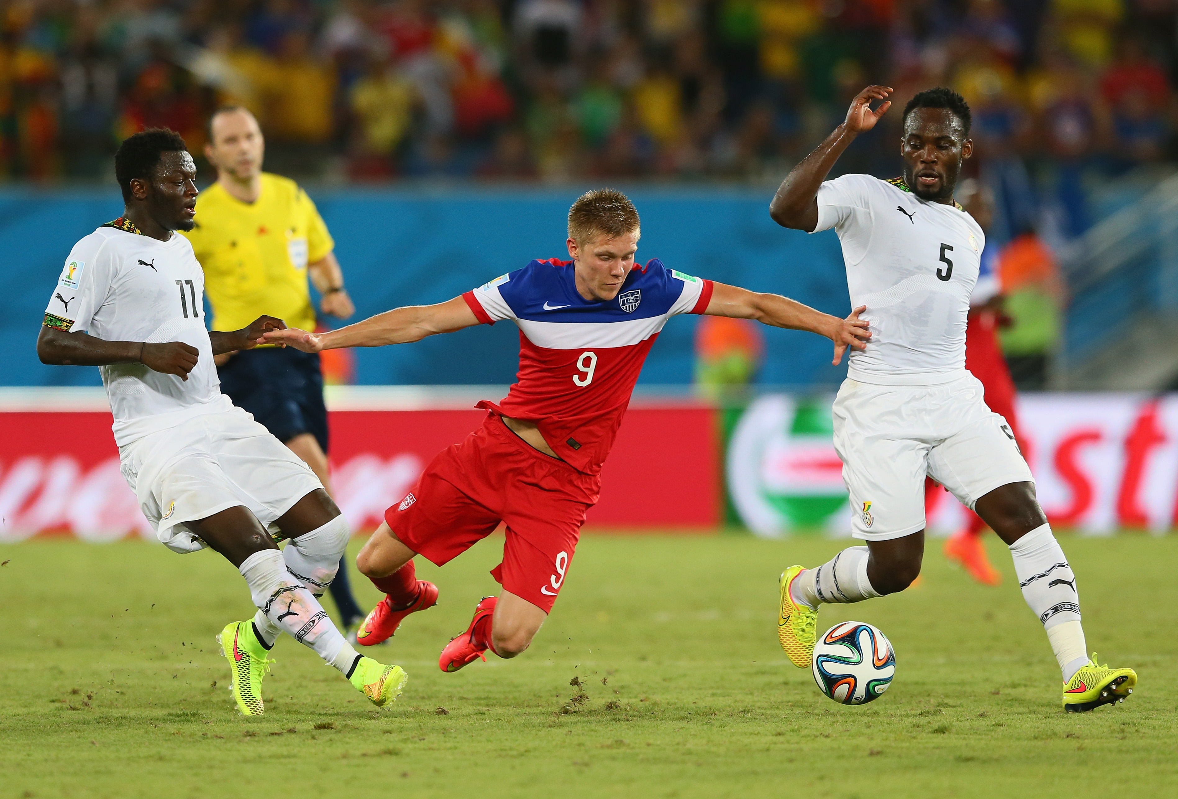 Ghana v USA: Group G – 2014 FIFA World Cup Brazil