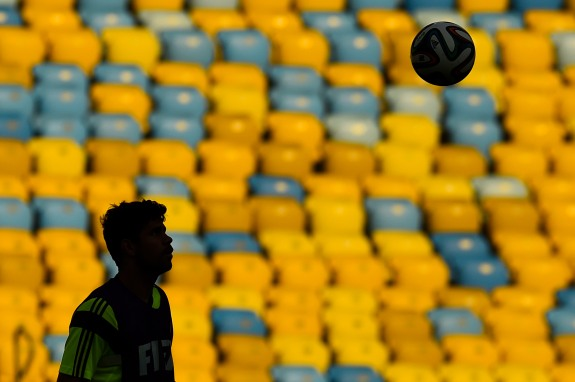 Spain Training & Press Conference – 2014 FIFA World Cup Brazil