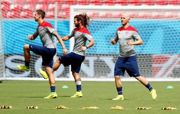 USA Training & Press Conference – 2014 FIFA World Cup Brazil