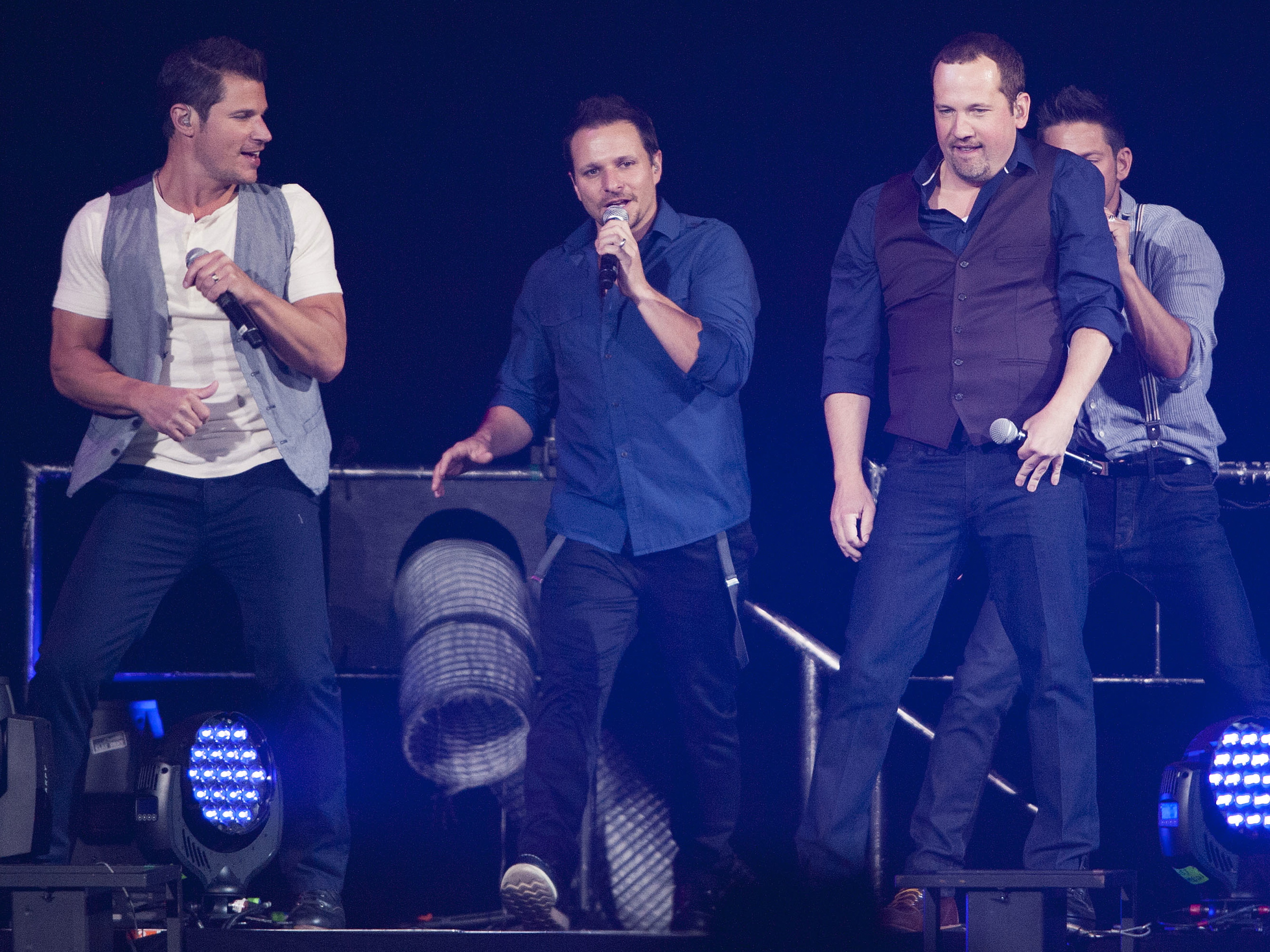 98 Degrees In Concert