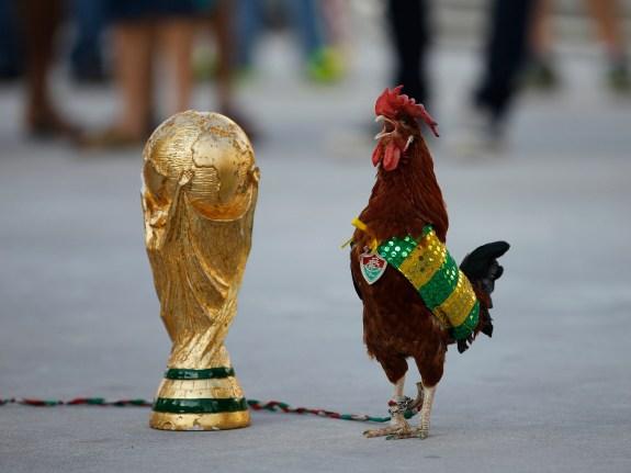 APTOPIX Brazil Soccer WCup