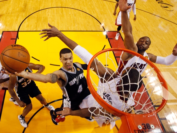 APTOPIX NBA Finals Spurs Heat Basketball