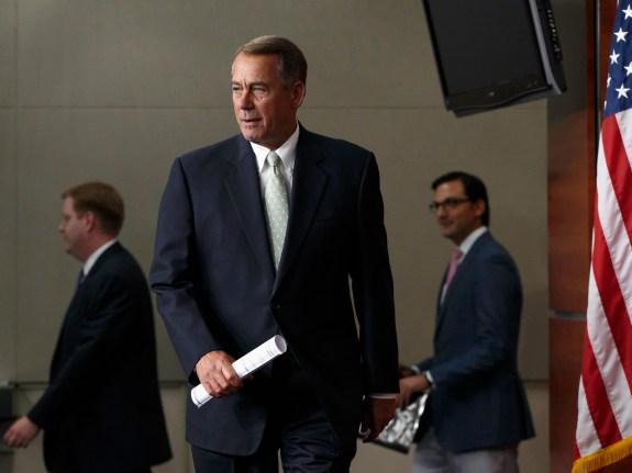 Boehner GOP Turmoil