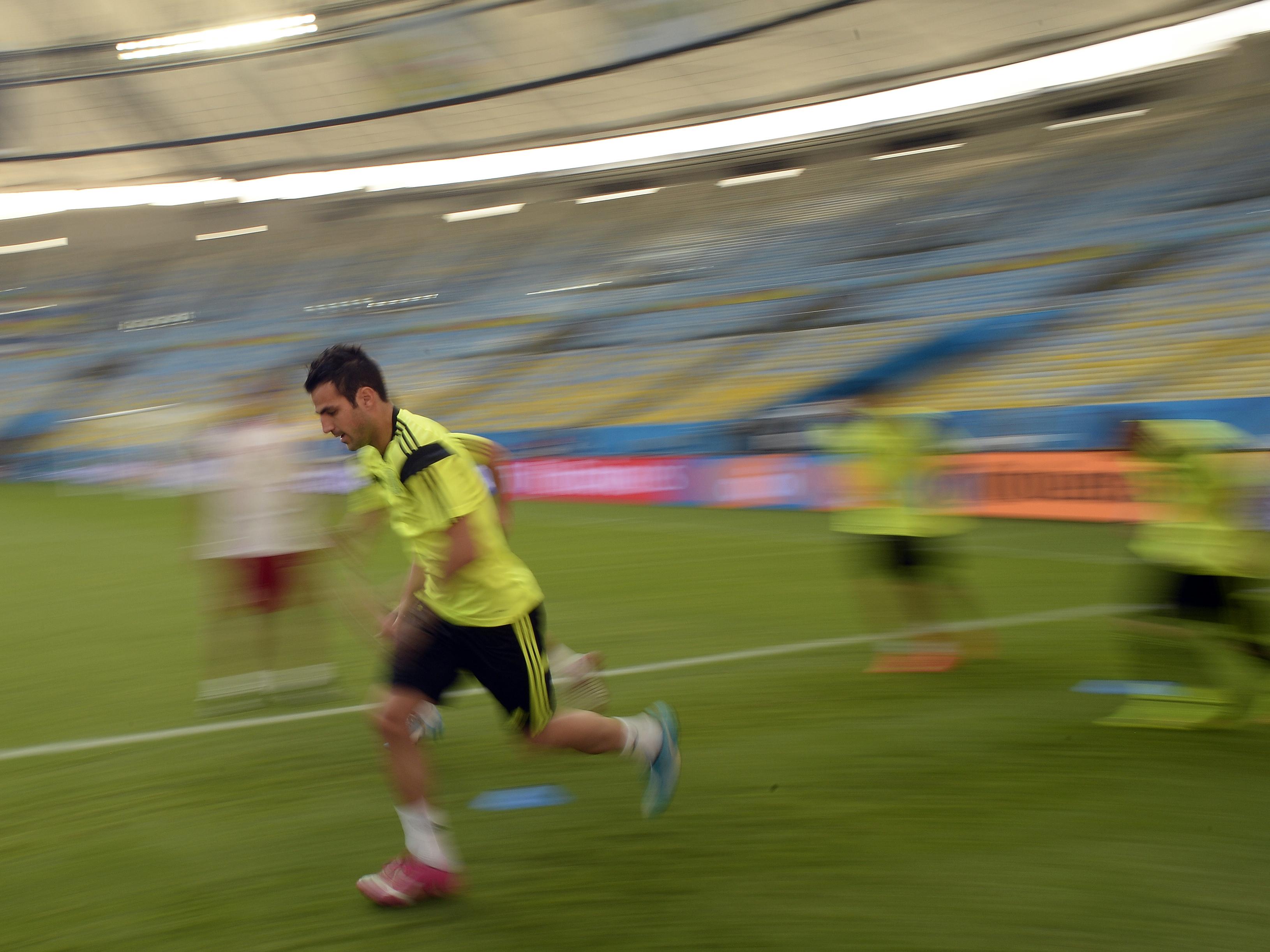 Brazil Spain Soccer WCup