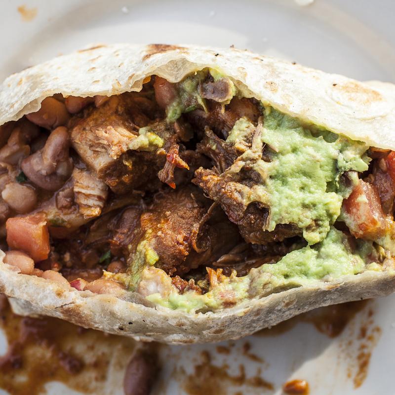 Burritos Garbo's Grill