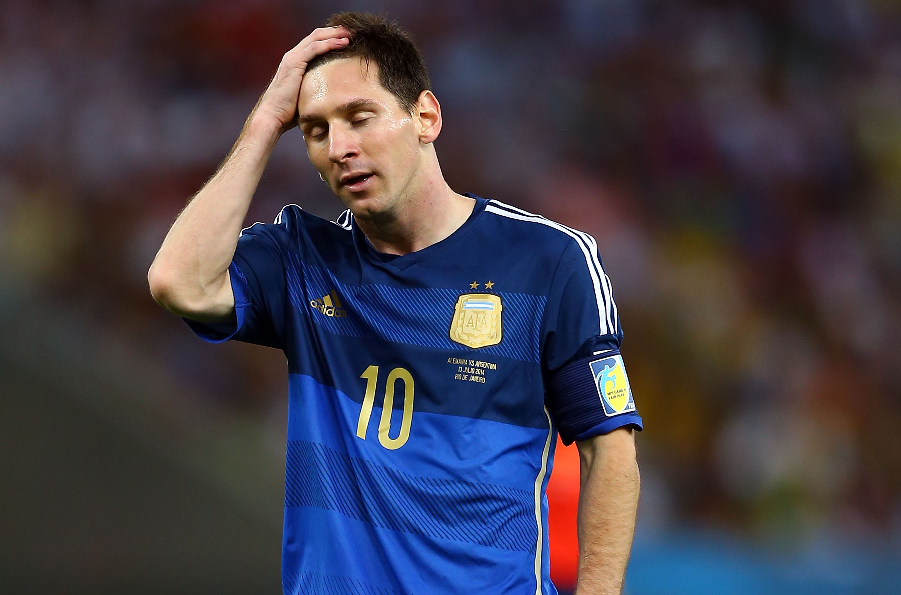 Was Lionel Messi Tired?