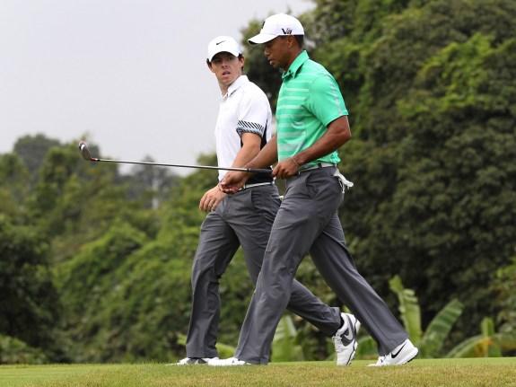 China Golf Woods McIlroy