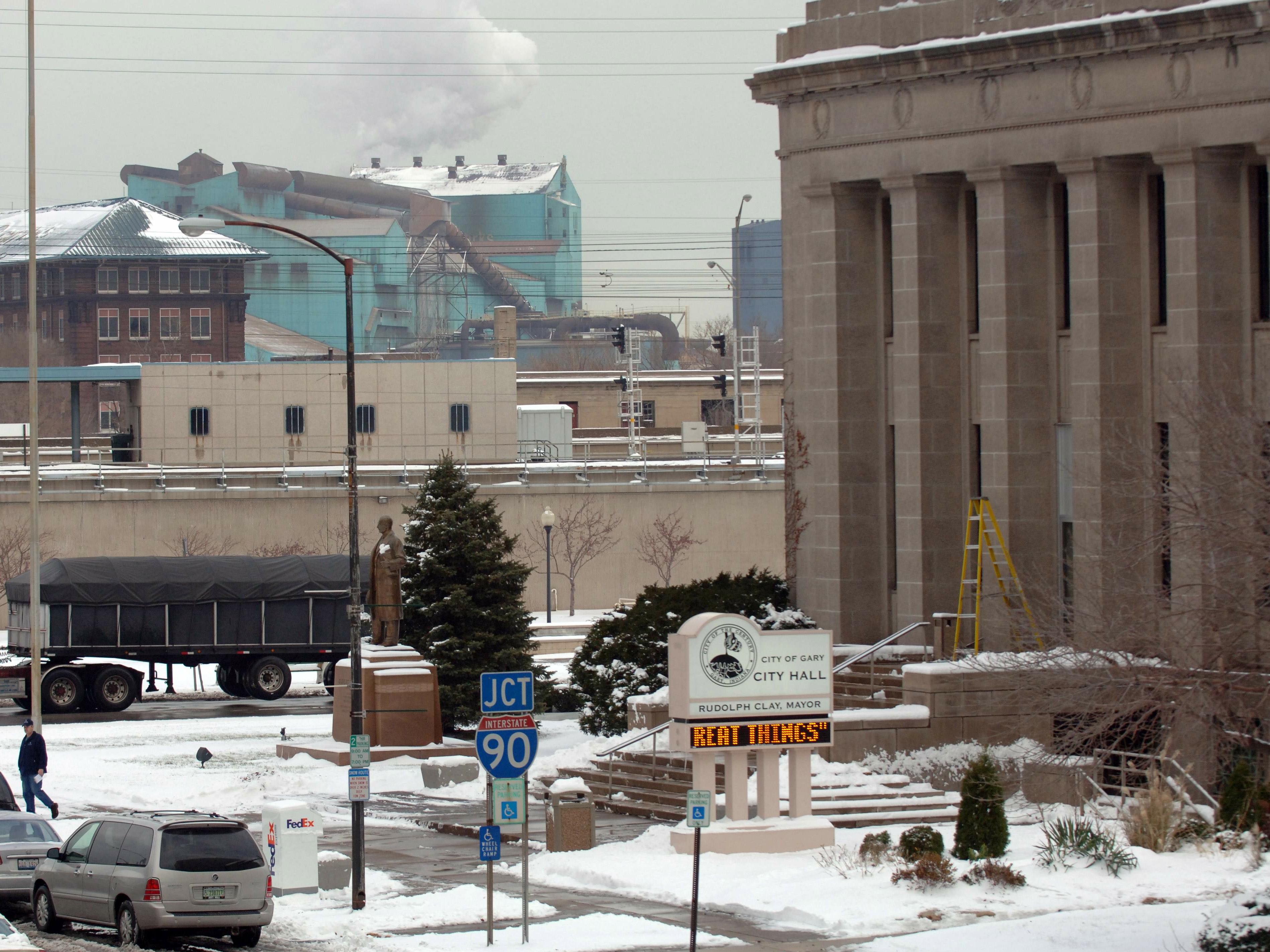 US Steel Icy Shutdown
