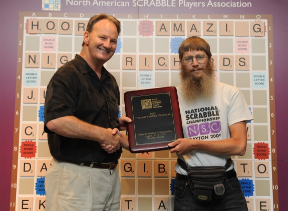 NATIONAL SCRABBLE(R) CHAMPIONSHIP NIGEL RICHARDS
