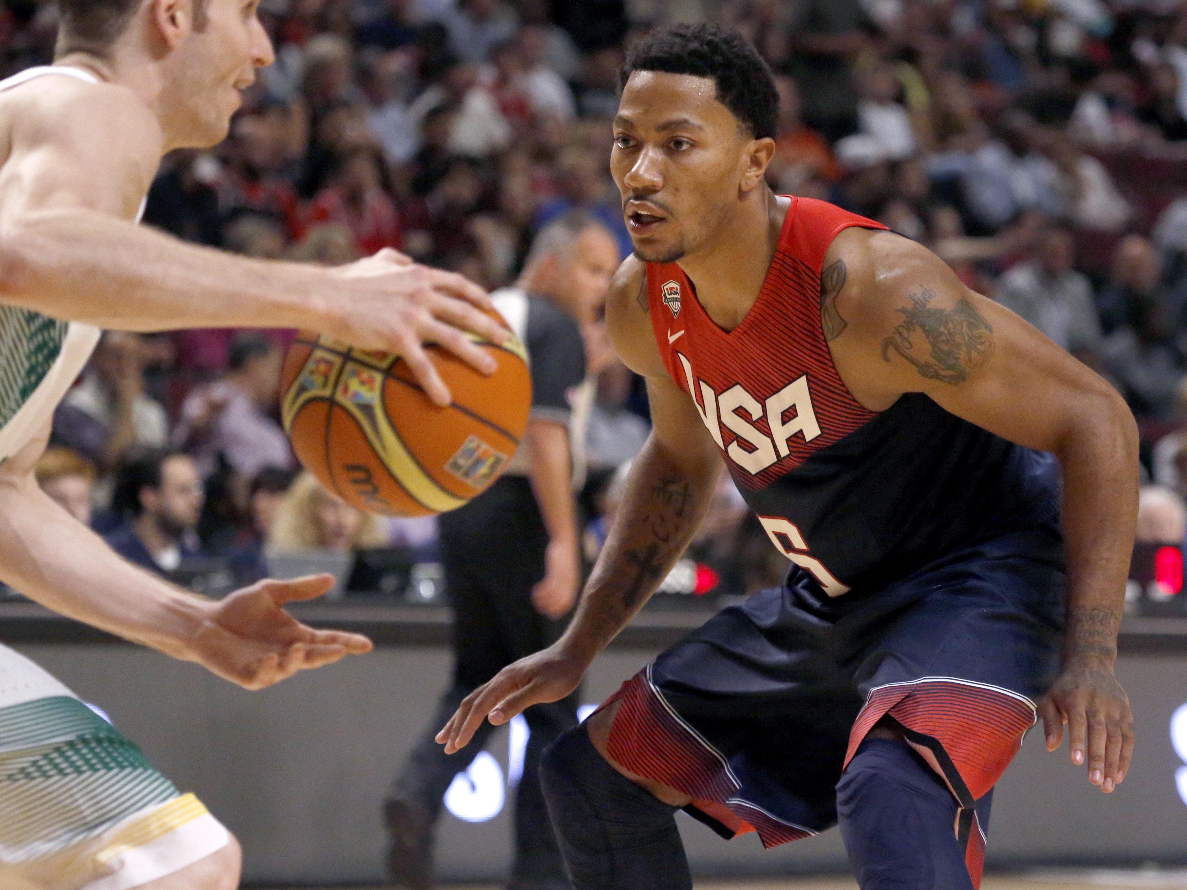 Brazil USA Basketball
