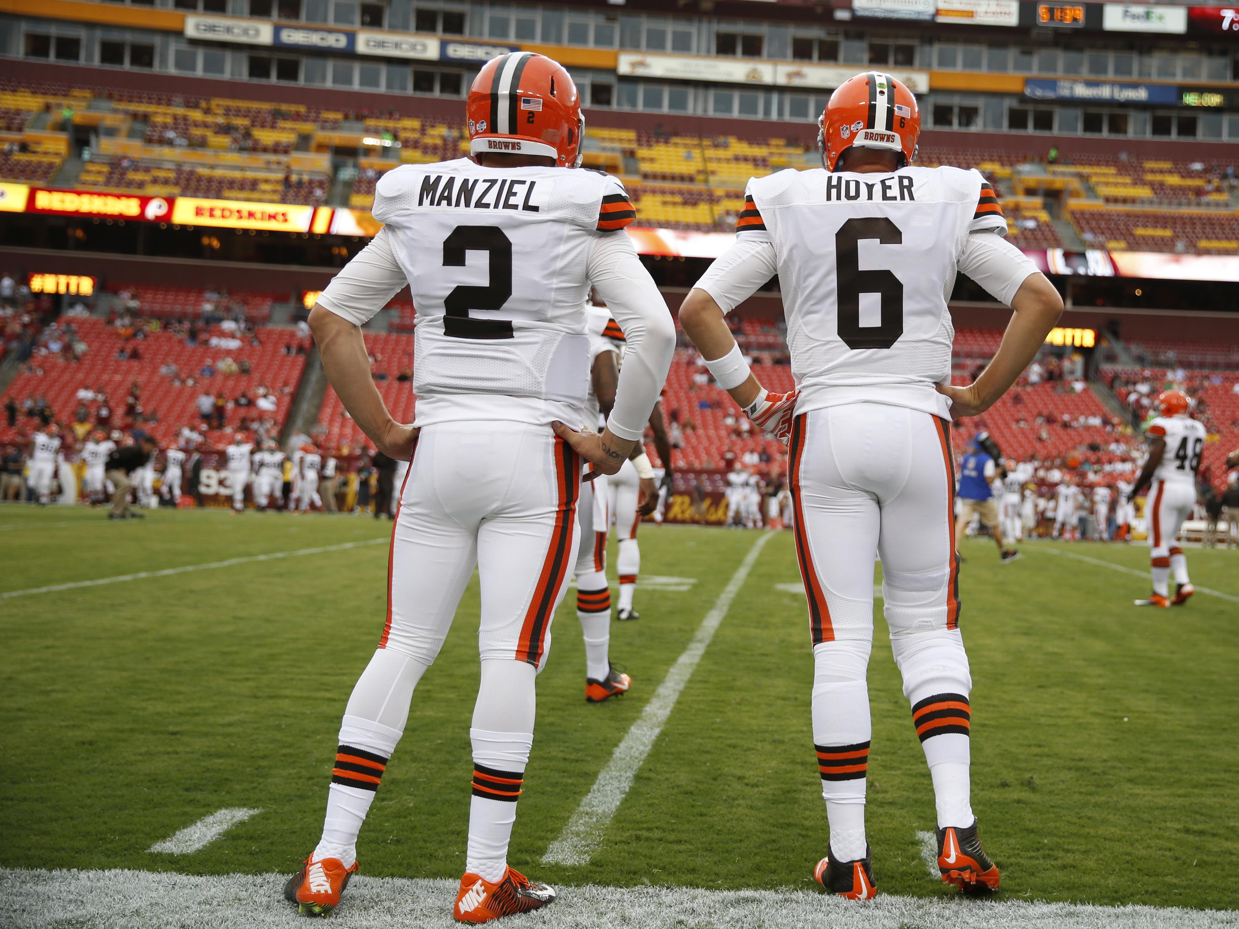 Browns Redskins Football