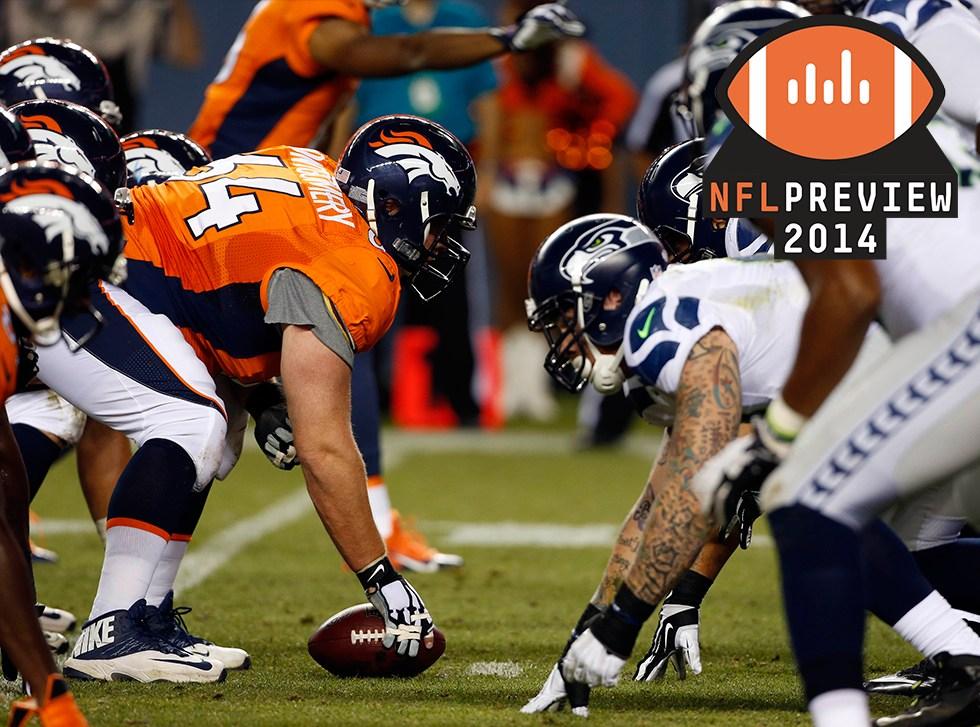 Seahawks Broncos Football