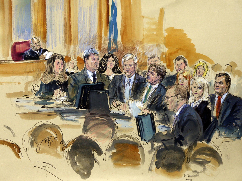 Former Governor Trial