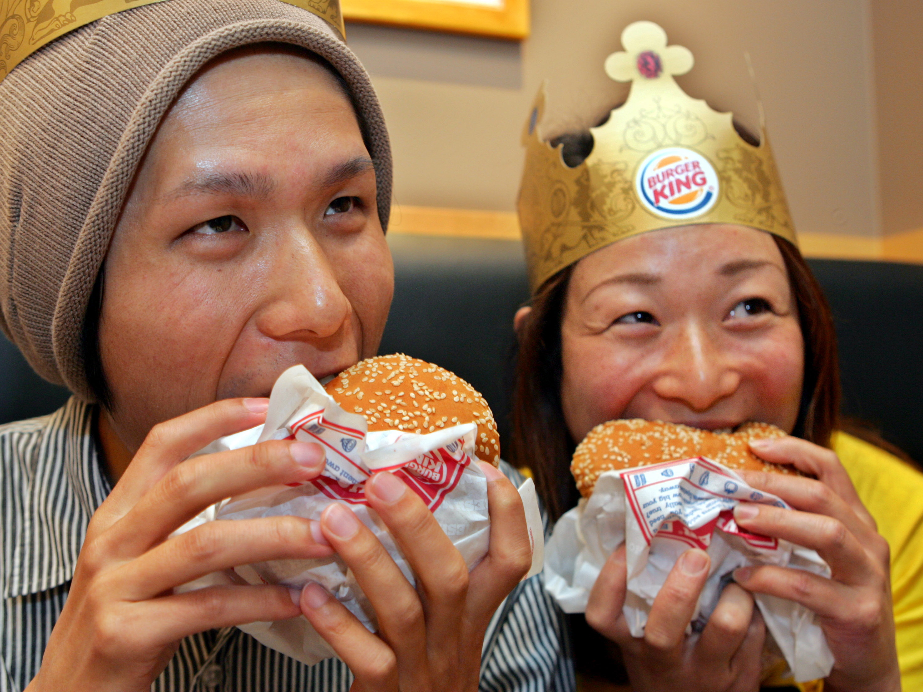 Japan Burger King's Return