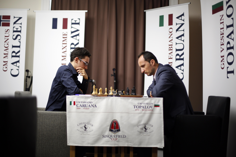 Veselin Topalov, Fabiano Caruana