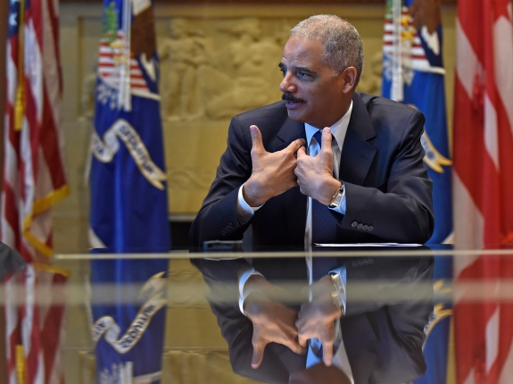 Holder Interview