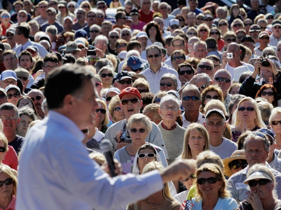 Romney Holds Campaign Rallies Across Florida Ahead Of Primary Day