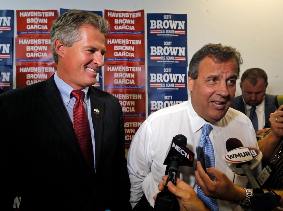 Brown Senate Christie