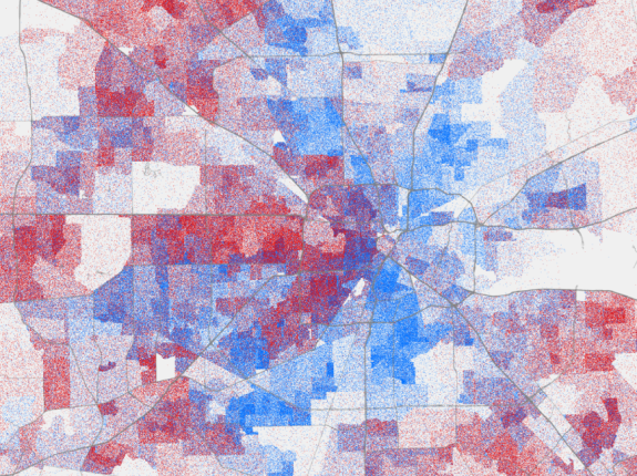 Map Of Texas 2014.Mapping The Changing Face Of The Lone Star State Fivethirtyeight