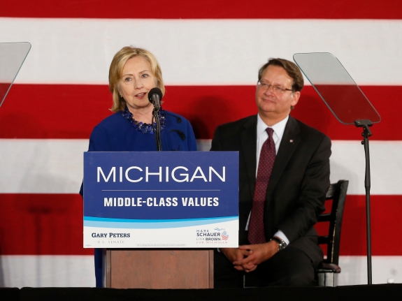 Midterm Elections Michigan Hillary Clinton