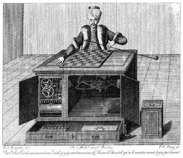 Figure 9.1: The Mechanical Turk