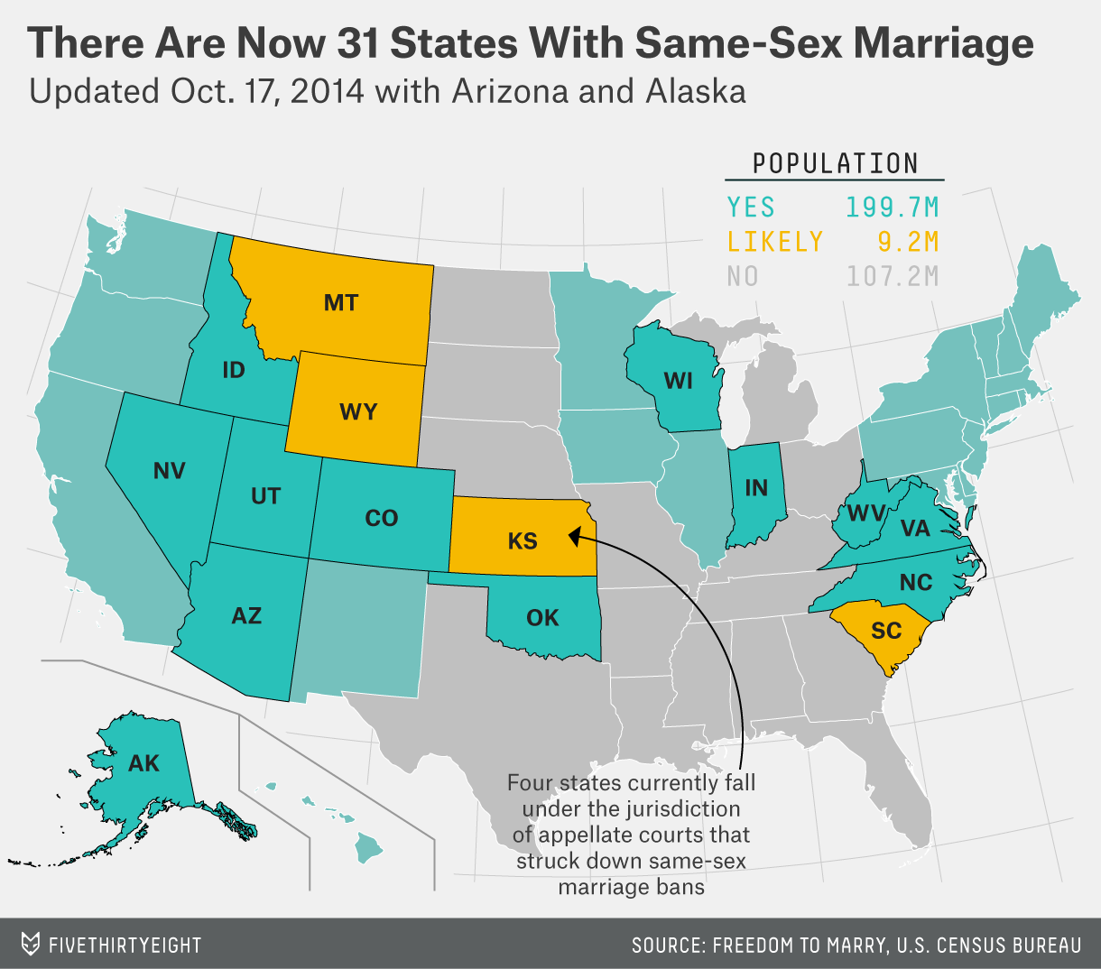 Which States Allow Gay Marriage