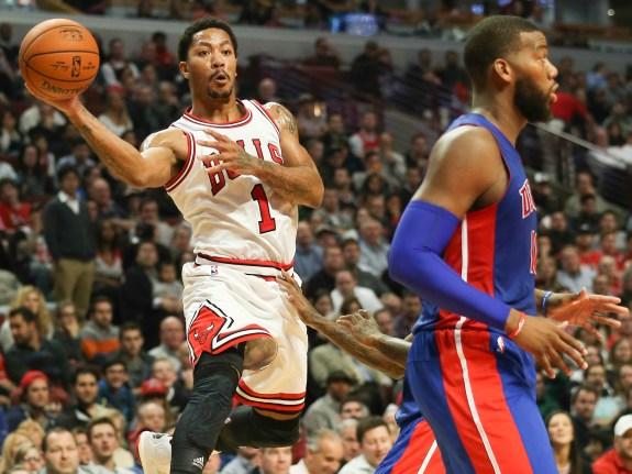 Detroit Pistons at Chicago Bulls