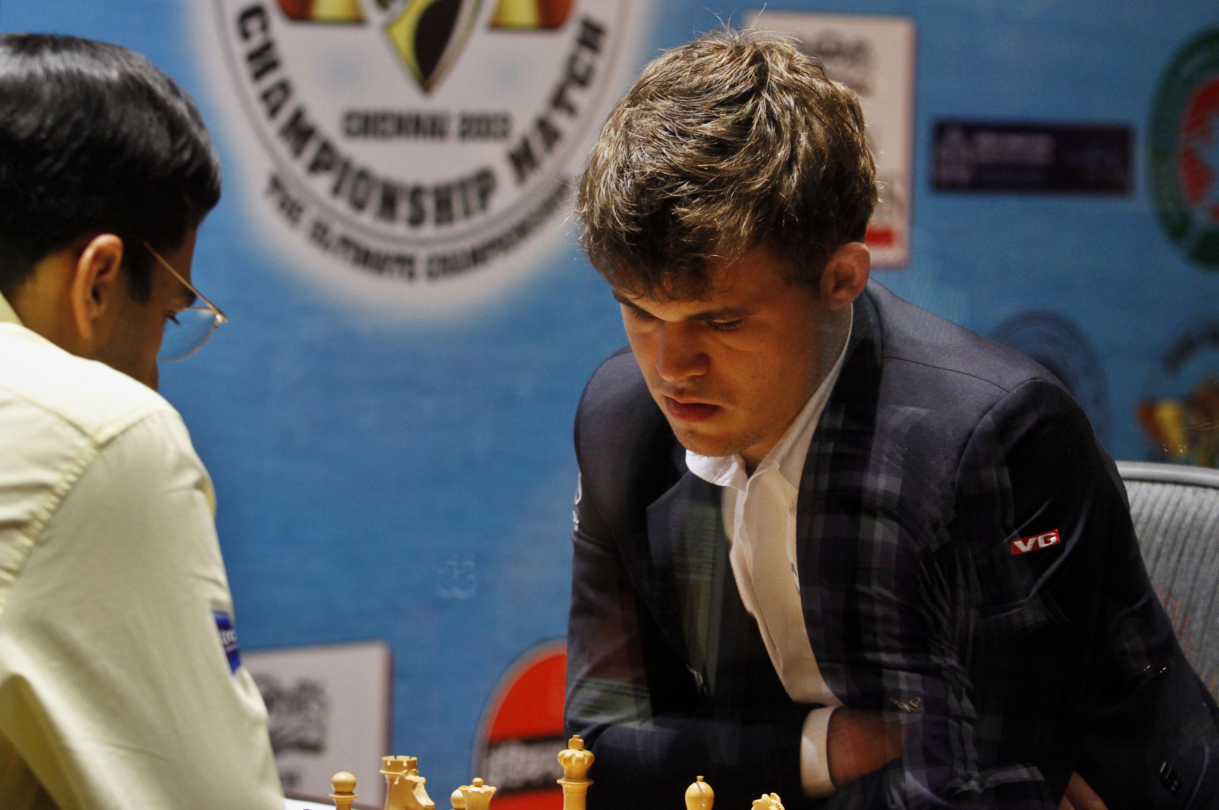 Magnus Carlsen, Viswanathan Anand