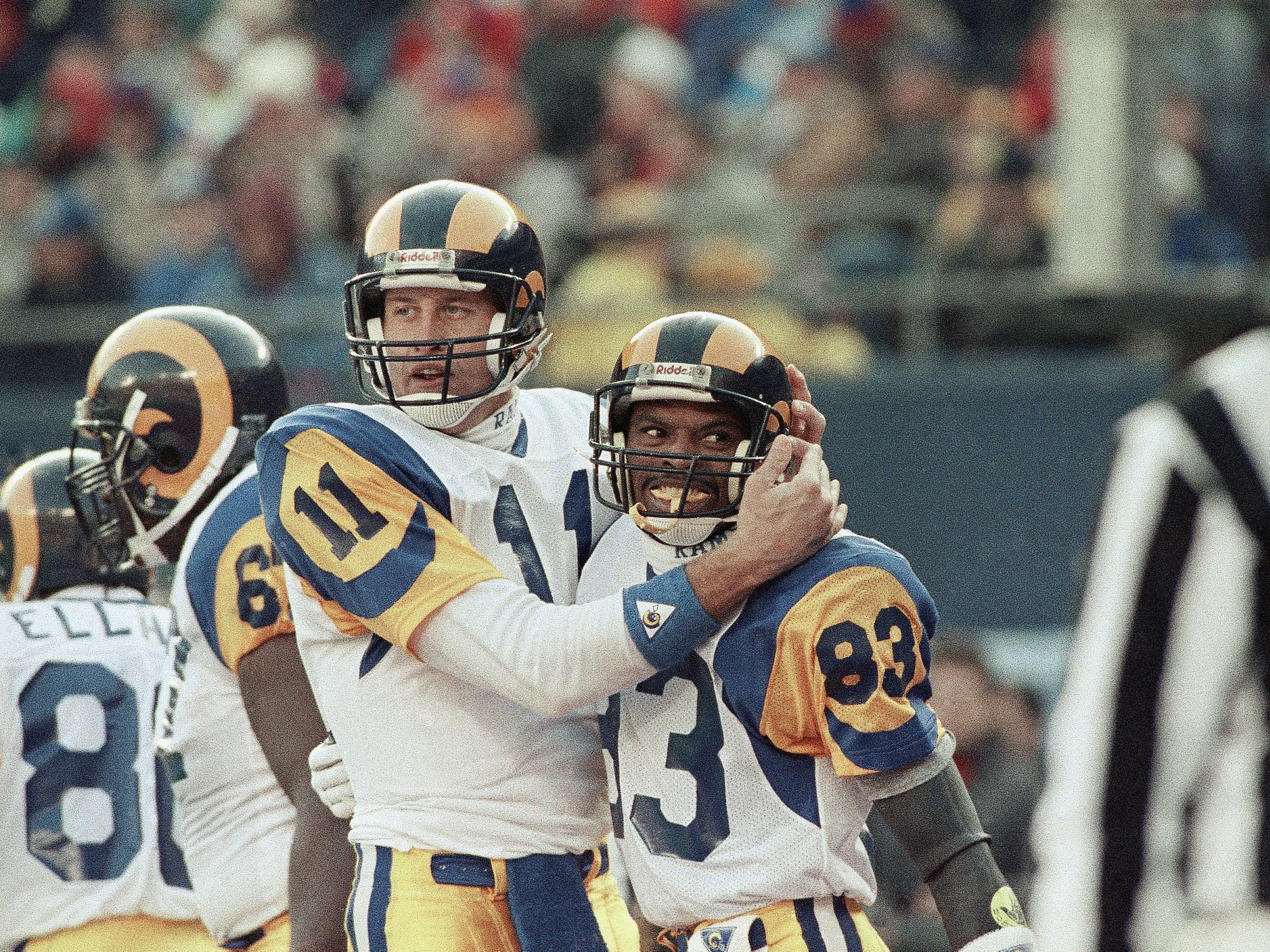 NFL Playoffs Rams Giants 1990