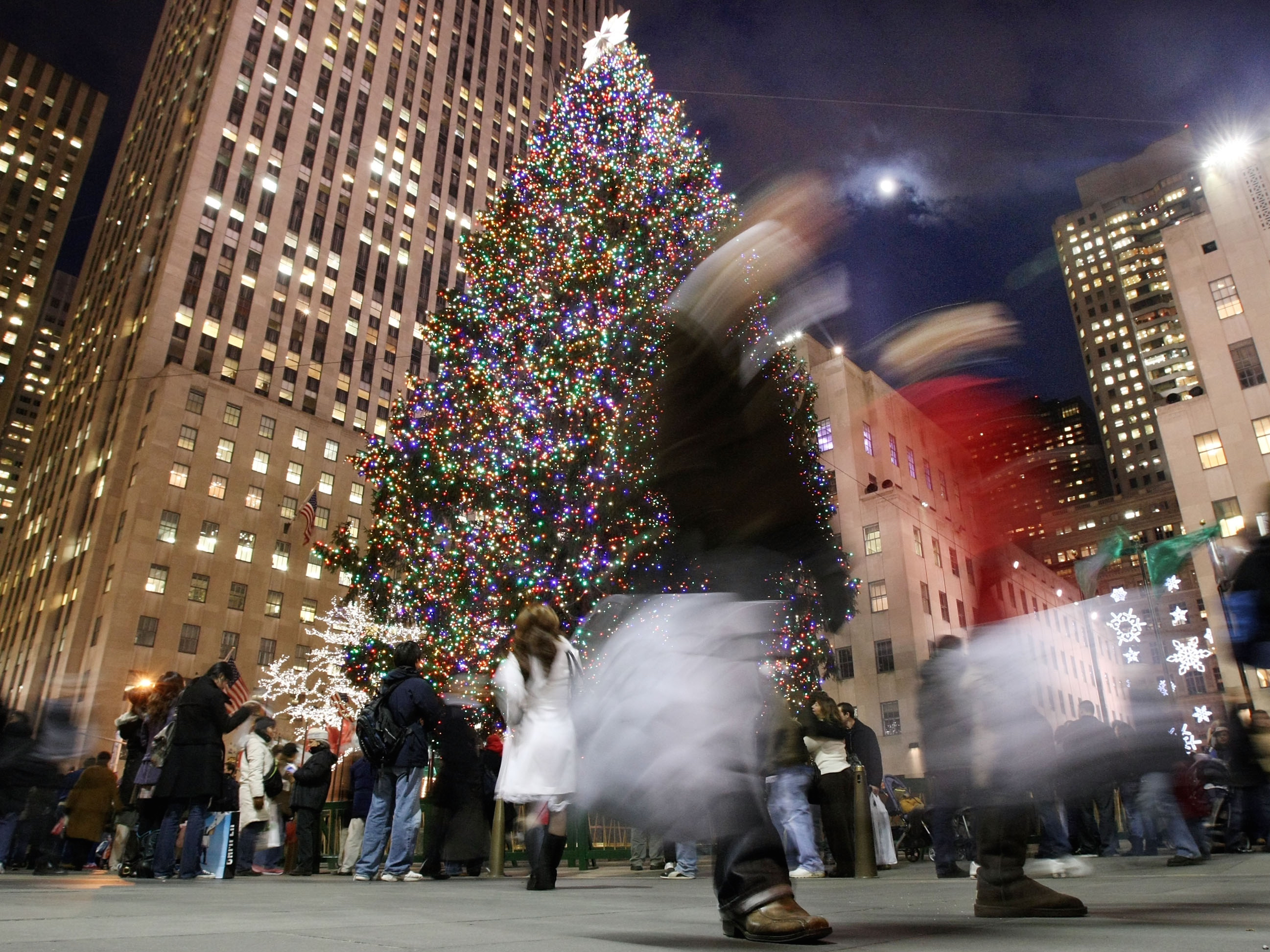 Holiday Season In Full Swing Around New York City