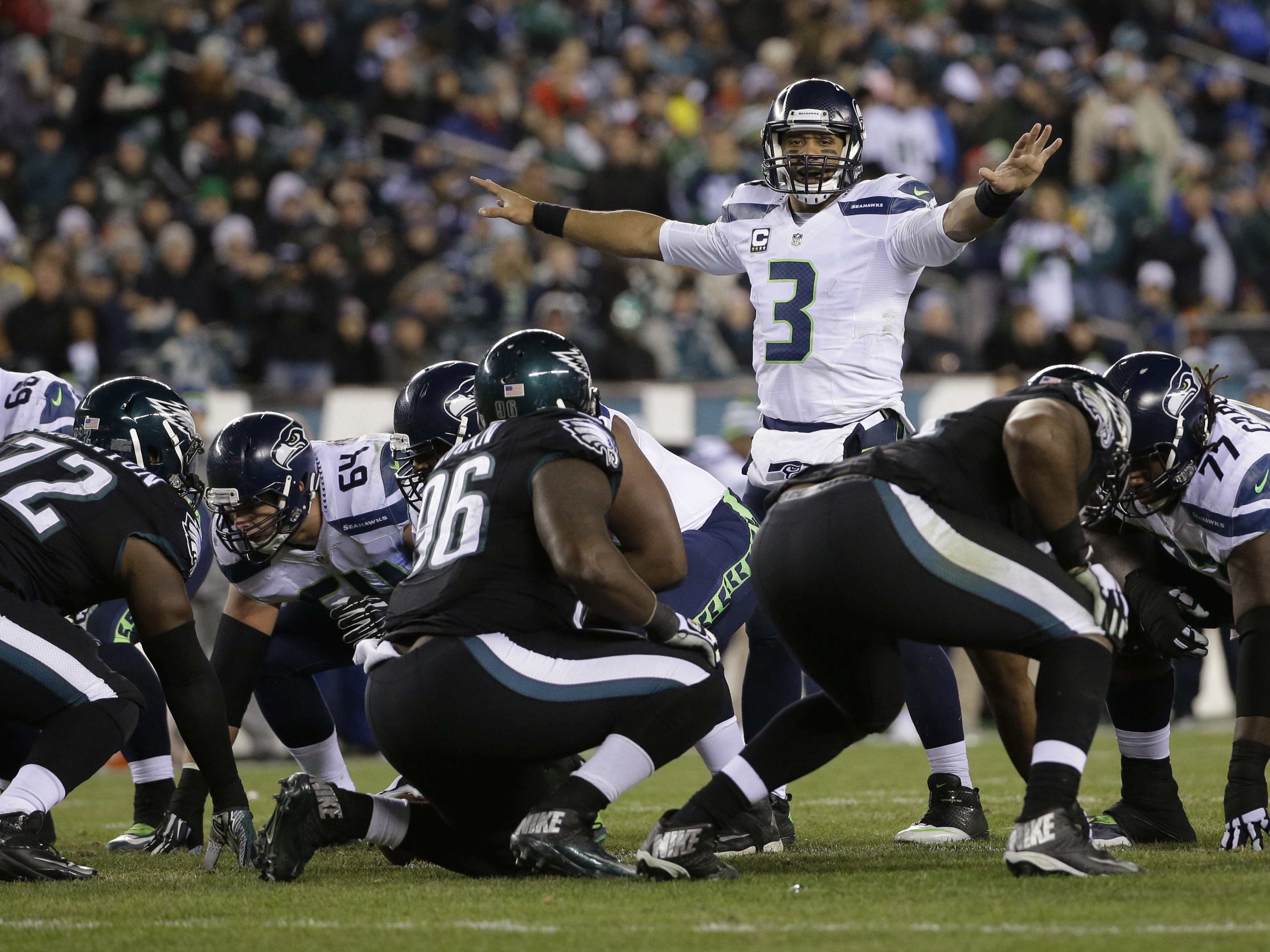Seahawks Eagles Football