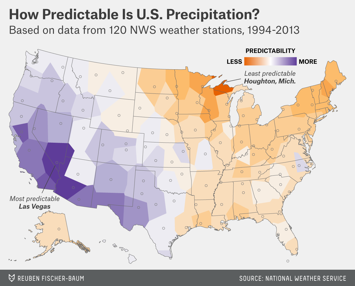 Which City Has The Most Unpredictable Weather? | FiveThirtyEight on simple map of washington state, usda soil maps minnesota, eastern minnesota, current weather map minnesota, rural minnesota, northeastern minnesota, waskish minnesota, growing zones in minnesota, trees native to minnesota, catholis churches coon rapids minnesota, simple idaho map, sulfide mining in minnesota, garden zone map for minnesota, summer climate in minnesota,