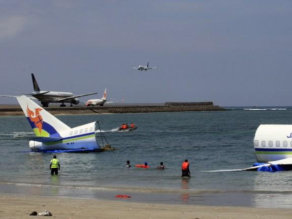 Indonesia Plane Crash Drill