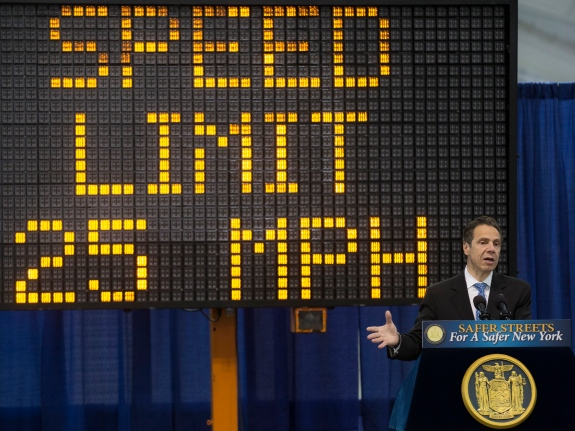 Cuomo Speed Limit Law