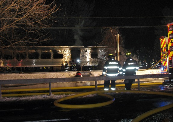 Train Car Collision