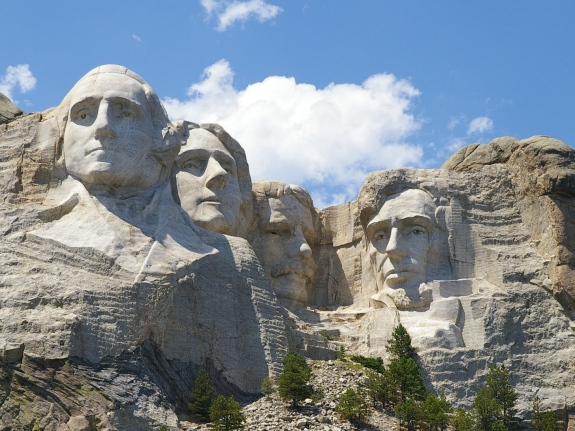 mount rushmore presidents name