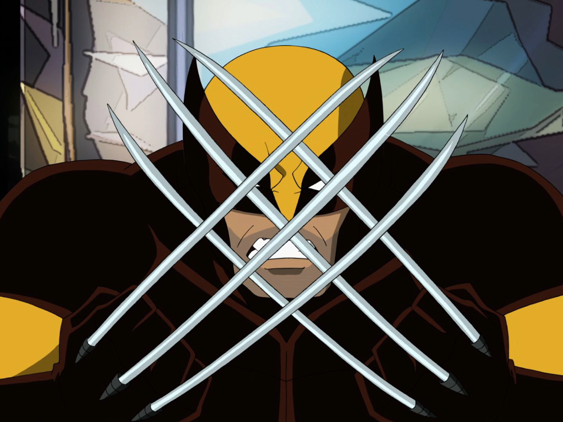 "Wolverine in ""Ultimate Spider-Man"" on Marvel Universe on Disney XD."